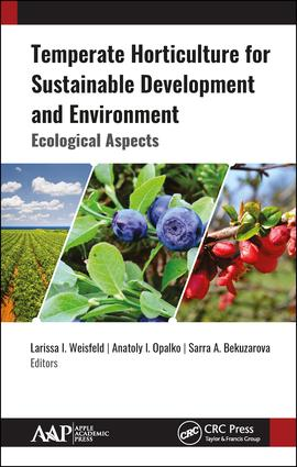 Temperate Horticulture for Sustainable Development and Environment: Ecological Aspects book cover