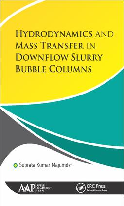 Hydrodynamics and Mass Transfer in Downflow Slurry Bubble Columns: 1st Edition (Hardback) book cover