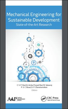 Mechanical Engineering for Sustainable Development: State-of-the-Art Research: 1st Edition (Hardback) book cover