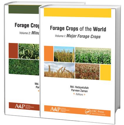 Forage Crops of the World, 2-volume set: Volume I: Major Forage Crops; Volume II: Minor Forage Crops, 1st Edition (Hardback) book cover