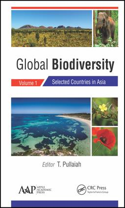 Global Biodiversity: Volume 1: Selected Countries in Asia, 1st Edition (Hardback) book cover