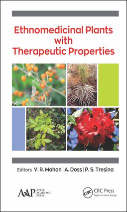Ethnomedicinal Plants with Therapeutic Properties book cover