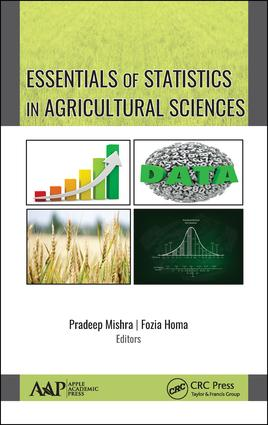 Essentials of Statistics in Agriculture Sciences: 1st Edition (Hardback) book cover