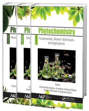 Phytochemistry, 3-Volume Set: Volume 1: Fundamentals, Modern Techniques, and Applications; Volume 2: Pharmacognosy, Nanomedicine, and Contemporary Issues; Volume 3: Marine Sources, Industrial Applications, and Recent Advances, 1st Edition (Hardback) book cover
