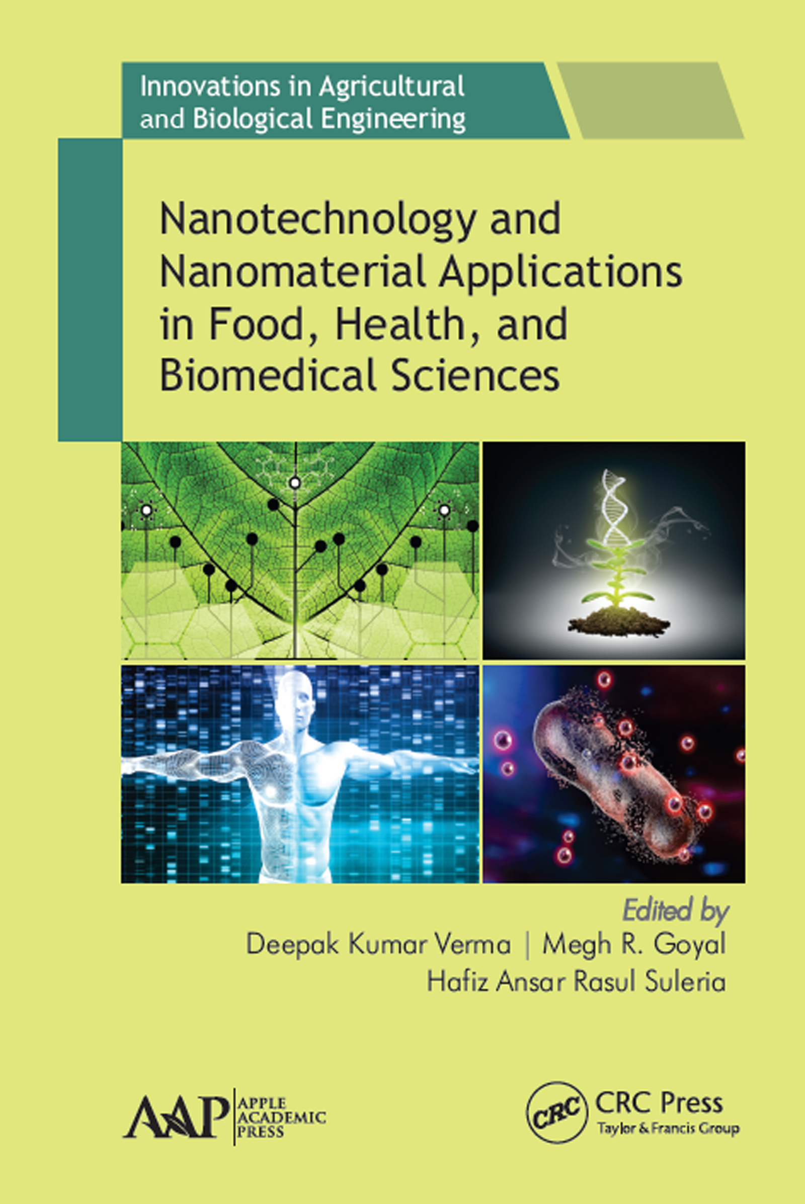 Nanotechnology and Nanomaterial Applications in Food, Health and Biomedical Sciences: 1st Edition (Hardback) book cover