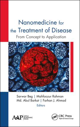 Nanomedicine for the Treatment of Disease: From Concept to Application, 1st Edition (Hardback) book cover