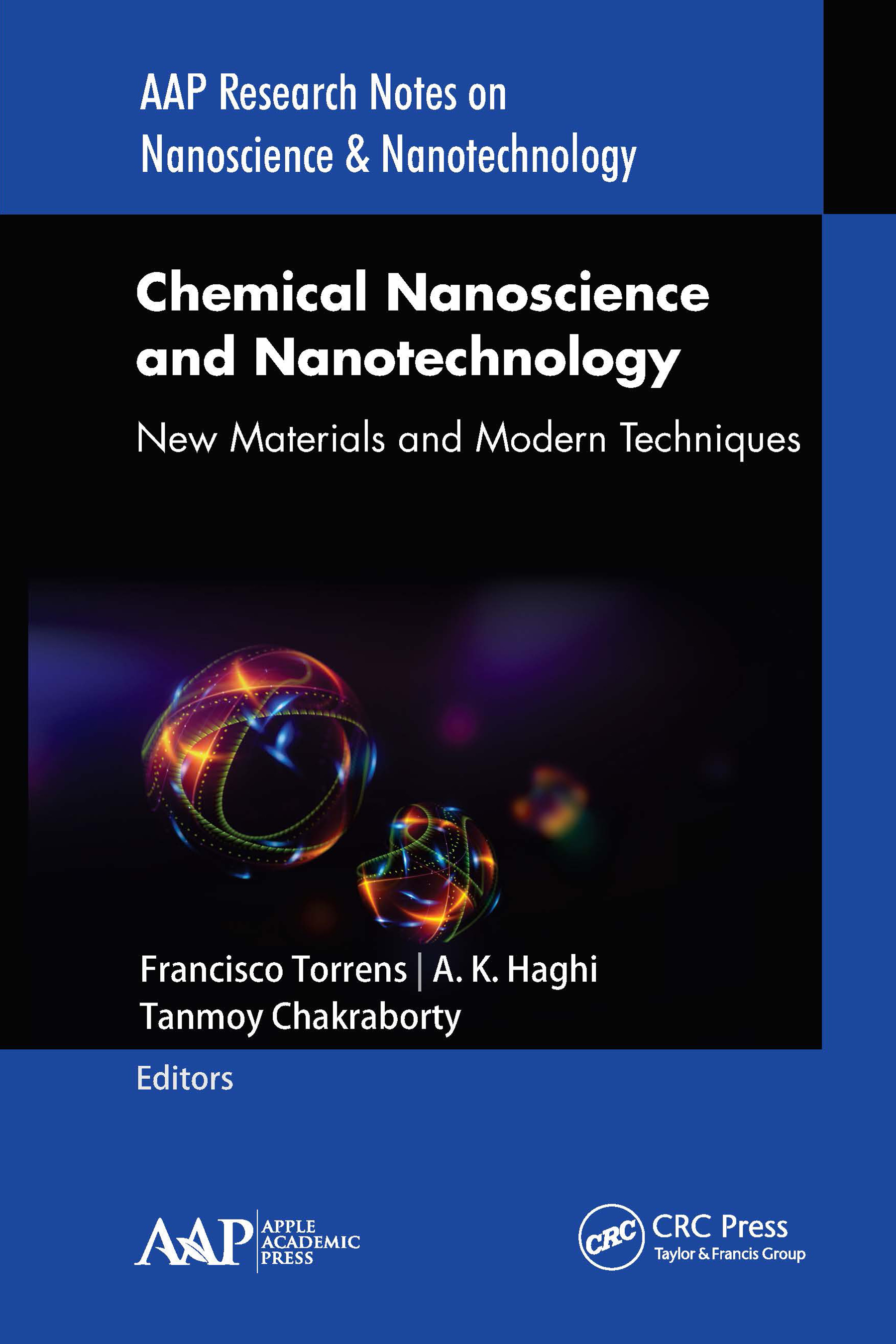 Chemical Nanoscience and Nanotechnology: New Materials and Modern Techniques book cover