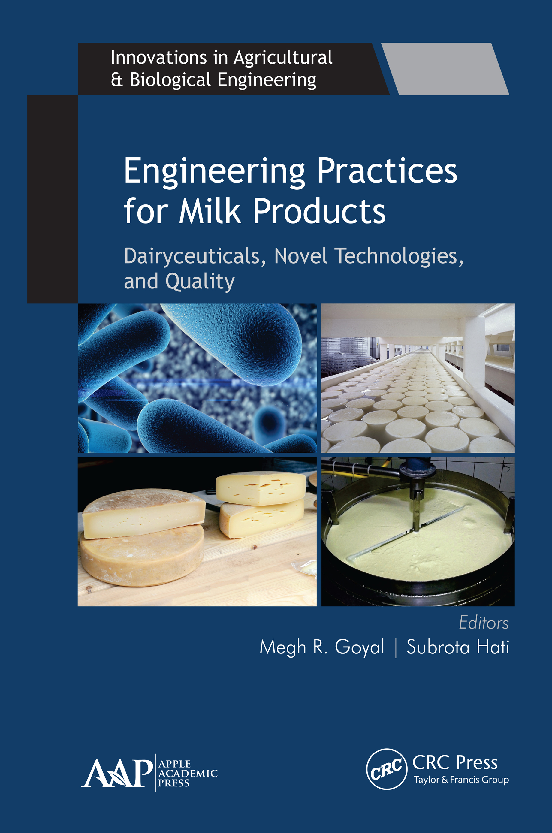 Engineering Practices for Milk Products: Dairyceuticals, Novel Technologies, and Quality book cover
