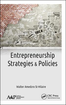 Entrepreneurship: Strategies and Policies, 1st Edition (Hardback) book cover