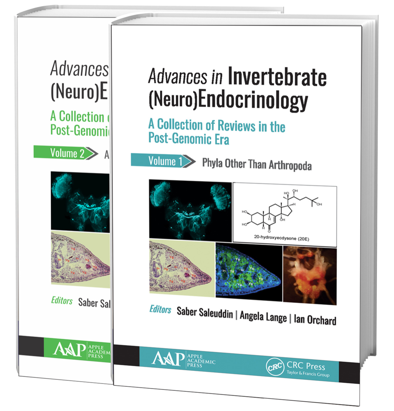 Advances in Invertebrate (Neuro)Endocrinology (2-volume set): A Collection of Reviews in the Post-Genomic Era, 1st Edition (Hardback) book cover