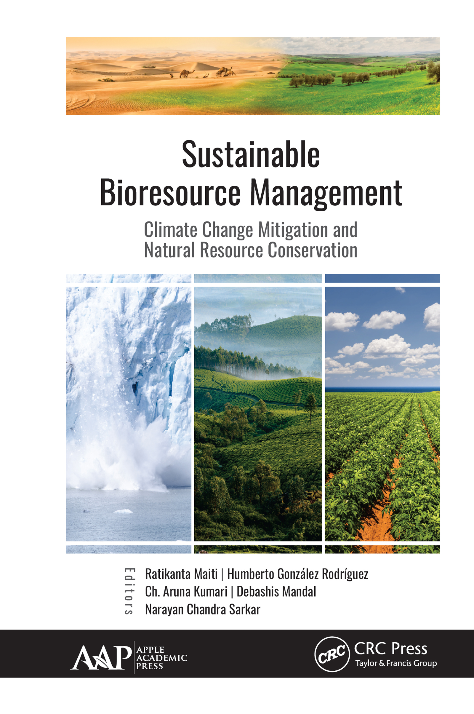 Sustainable Bioresource Management: Climate Change Mitigation and Natural Resource Conservation, 1st Edition (Hardback) book cover