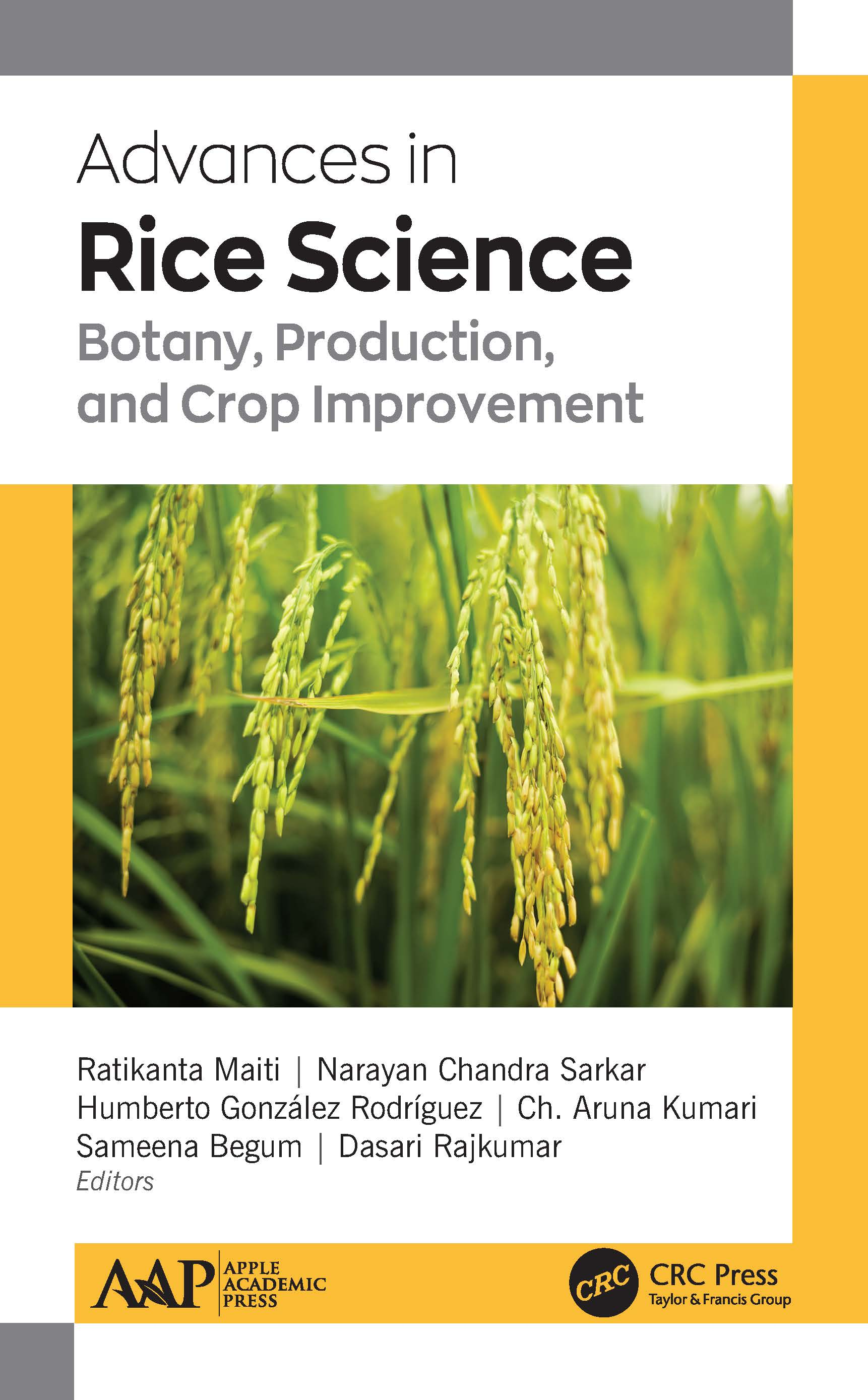 Advances in Rice Science: Botany, Production, and Crop Improvement book cover