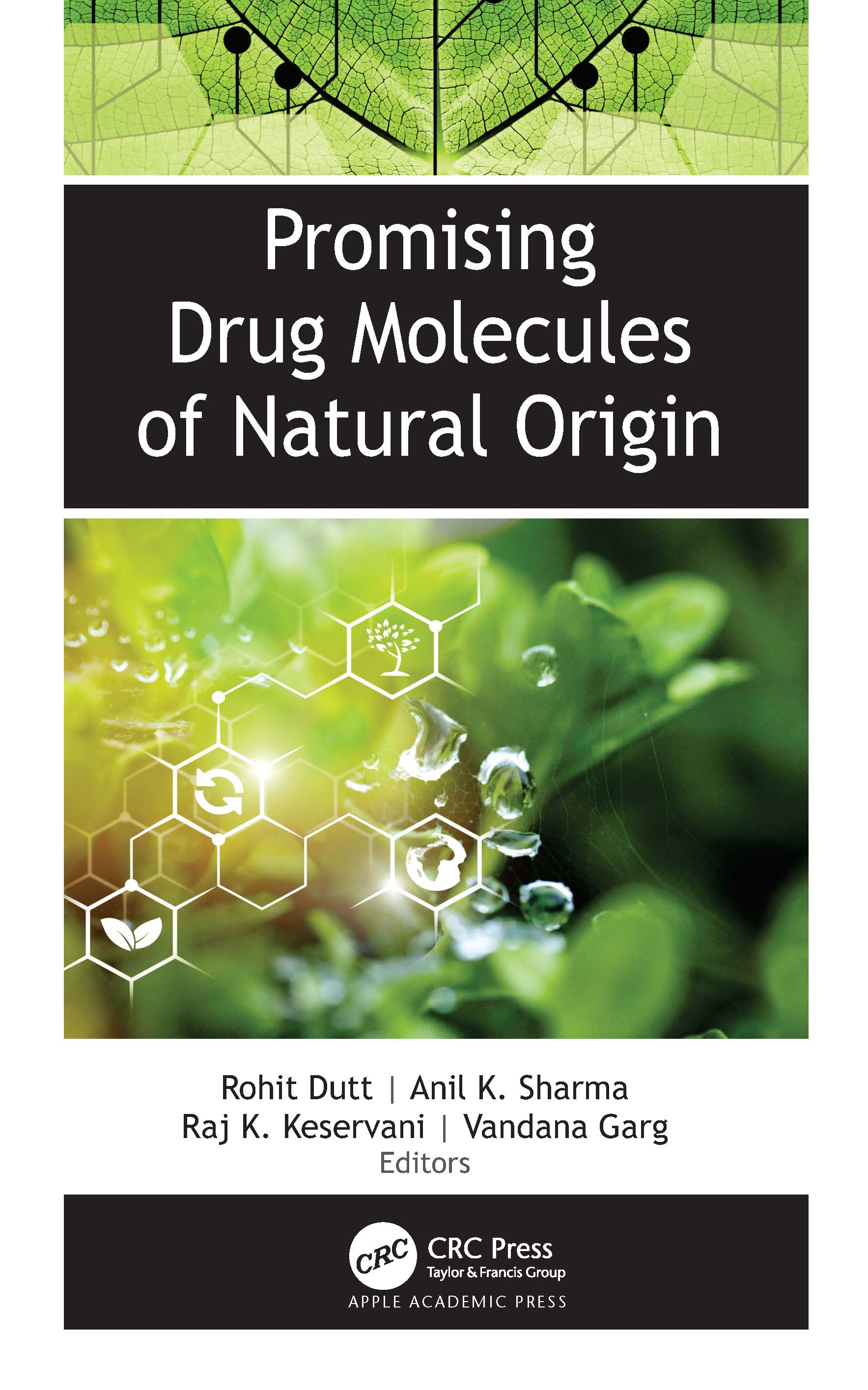 Promising Drug Molecules of Natural Origin: 1st Edition (Hardback) book cover