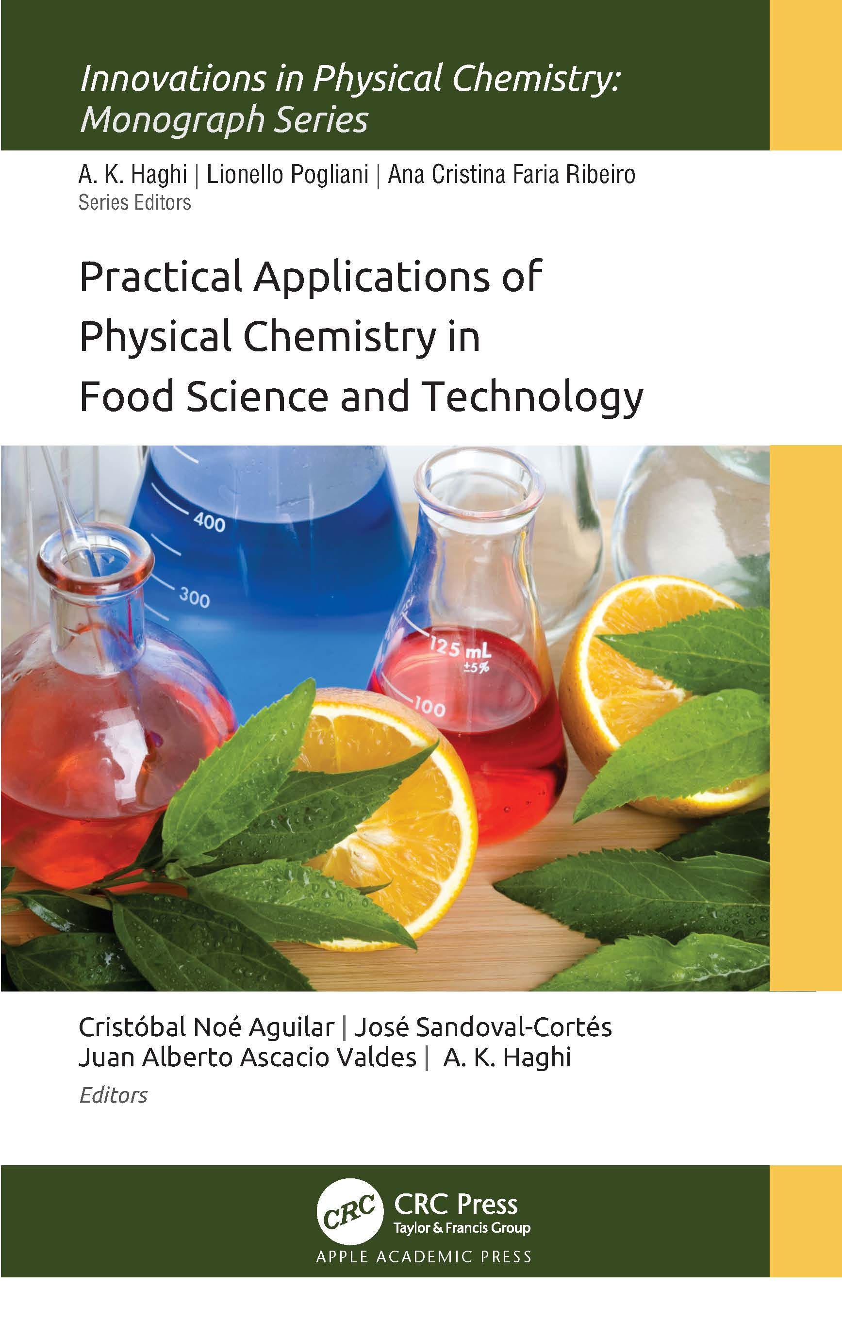 Practical Applications of Physical Chemistry in Food Science and Technology book cover