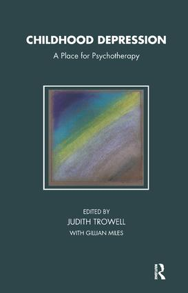 Childhood Depression: A Place for Psychotherapy, 1st Edition (Paperback) book cover