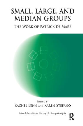 Small, Large and Median Groups: The Work of Patrick de Mare, 1st Edition (Paperback) book cover