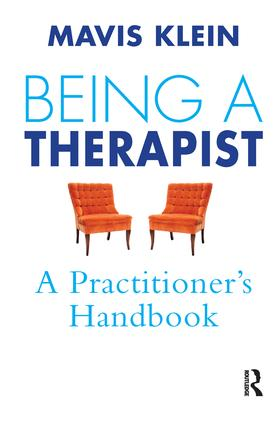 Being a Therapist: A Practitioner's Handbook, 1st Edition (Paperback) book cover