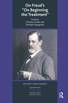 On Freud's On Beginning the Treatment: 1st Edition (Paperback) book cover