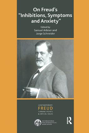 On Freud's Inhibitions, Symptoms and Anxiety: 1st Edition (Paperback) book cover