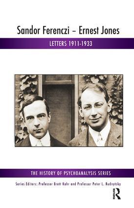 Sandor Ferenczi - Ernest Jones: Letters 1911-1933 book cover