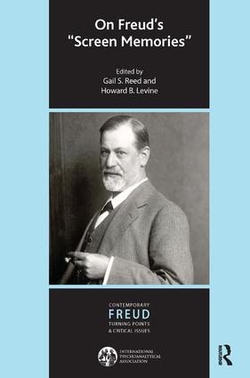 On Freud's Screen Memories book cover