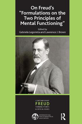 On Freud's ''Formulations on the Two Principles of Mental Functioning''