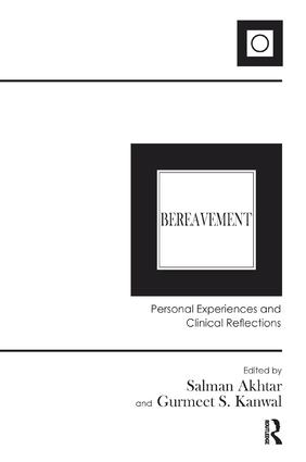 Bereavement: Personal Experiences and Clinical Reflections, 1st Edition (Paperback) book cover
