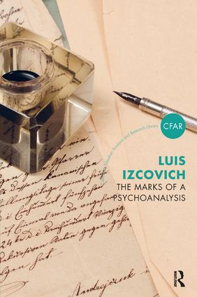 The Marks of a Psychoanalysis: 1st Edition (Paperback) book cover