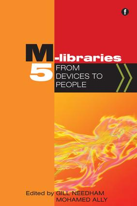 M-Libraries 5: From devices to people, 1st Edition (Paperback) book cover