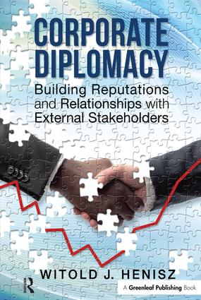 Corporate Diplomacy: Building Reputations and Relationships with External Stakeholders book cover
