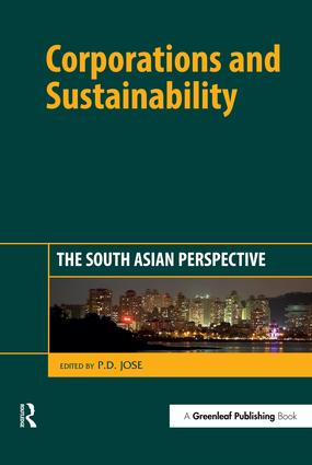 Corporations and Sustainability: The South Asian Perspective, 1st Edition (Hardback) book cover