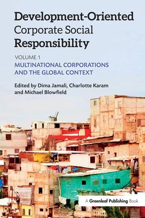Development-Oriented Corporate Social Responsibility: Volume 1: Multinational Corporations and the Global Context book cover