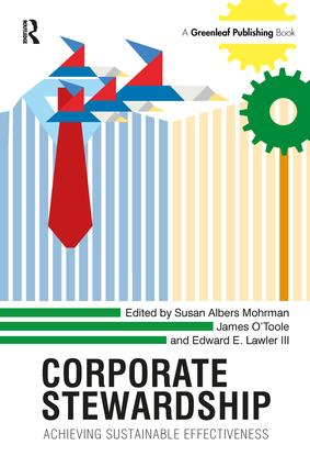 Corporate Stewardship: Achieving Sustainable Effectiveness, 1st Edition (Hardback) book cover