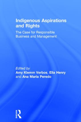 Indigenous Aspirations and Rights: The Case for Responsible Business and Management book cover
