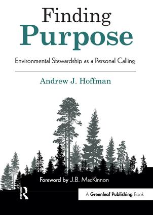 Finding Purpose: Environmental Stewardship as a Personal Calling book cover