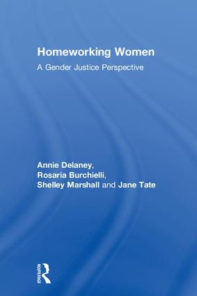 Homeworking Women: A Gender Justice Perspective book cover