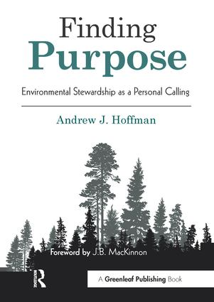 Finding Purpose: Environmental Stewardship as a Personal Calling (Paperback) book cover