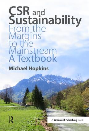 CSR and Sustainability: From the Margins to the Mainstream: A Textbook book cover
