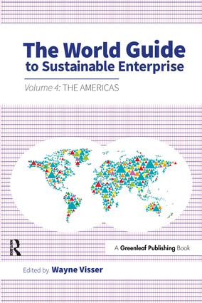 The World Guide to Sustainable Enterprise: Volume 4: the Americas (Paperback) book cover