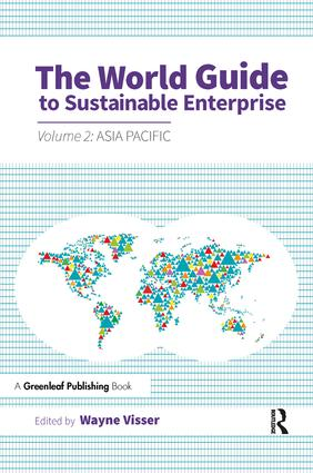 The World Guide to Sustainable Enterprise: Volume 2: Asia Pacific, 1st Edition (Paperback) book cover