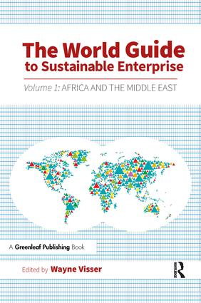 The World Guide to Sustainable Enterprise: Volume 1: Africa and Middle East (Paperback) book cover