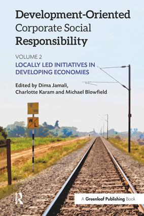 Development-Oriented Corporate Social Responsibility: Volume 2: Locally Led Initiatives in Developing Economies, 1st Edition (Paperback) book cover