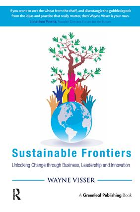Sustainable Frontiers: Unlocking Change through Business, Leadership and Innovation (Paperback) book cover