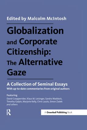 Globalization and Corporate Citizenship: The Alternative Gaze: A Collection of Seminal Essays book cover