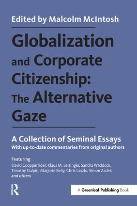 Globalization and Corporate Citizenship: The Alternative Gaze: A Collection of Seminal Essays, 1st Edition (Paperback) book cover