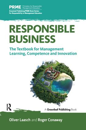 Responsible Business: The Textbook for Management Learning, Competence and Innovation book cover