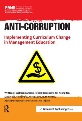 Anti-Corruption: Implementing Curriculum Change in Management Education, 1st Edition (Paperback) book cover
