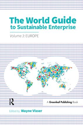The World Guide to Sustainable Enterprise - Volume 3: Europe (Paperback) book cover