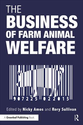 The Business of Farm Animal Welfare (Paperback) book cover