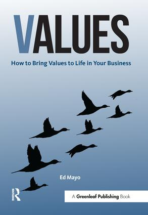 Values: How to Bring Values to Life in Your Business, 1st Edition (Paperback) book cover